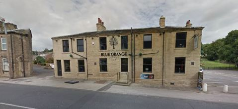 blue orange pub