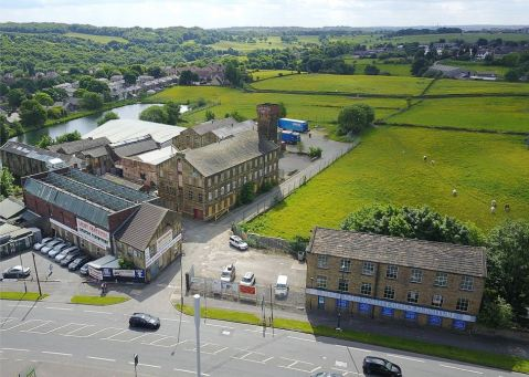 Bradford Mill aerial
