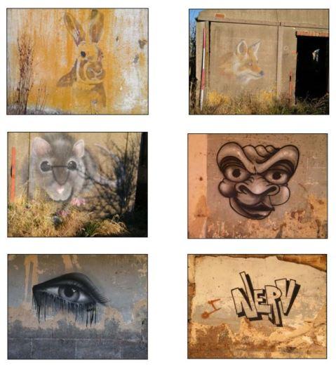 Street art at Roebuck